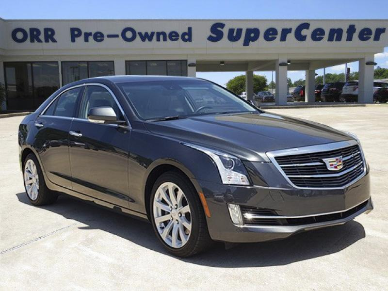 Pre-Owned 2018 Cadillac ATS Premium Luxury AWD