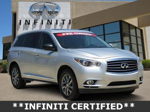 Certified Pre-Owned 2014 INFINITI QX60 Base