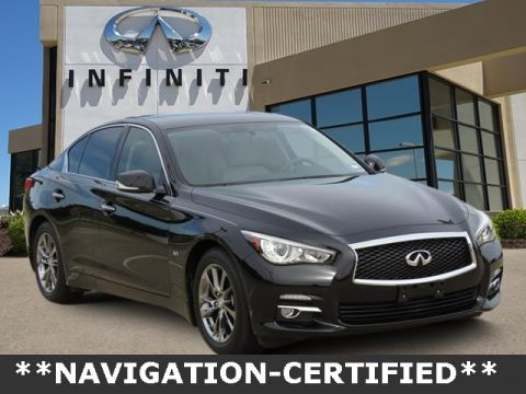 Certified Pre-Owned 2017 INFINITI Q50 3.0t Signature Edition